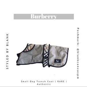 Auth Burberry Dog Coat Extremely RARE! (See Vid!)